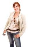 femme de lunettes de soleil de mode Photo stock