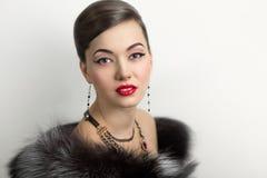 Femme de luxe Photos stock