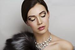 Femme de luxe Photo stock