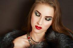 Femme de luxe Image stock