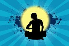 Femme de méditation Photo libre de droits