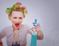 Femme de ménage Photographie stock libre de droits