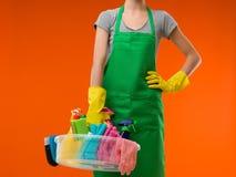 Femme de ménage images libres de droits