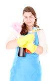 Femme de ménage photo libre de droits