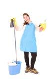 Femme de ménage photos stock