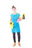 Femme de ménage images stock