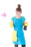 Femme de ménage image stock