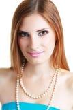 Femme de maquillage Image libre de droits