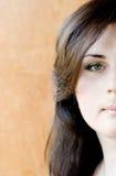 Femme de maquillage photographie stock libre de droits