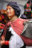 Femme de mendiant Image libre de droits