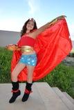 Femme de merveille Photographie stock libre de droits