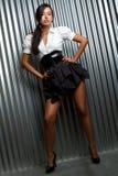 Femme de modèle de mode photos stock