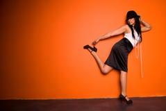 Femme de mode. Images libres de droits
