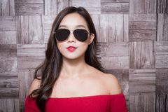Femme de mode de beauté photos stock