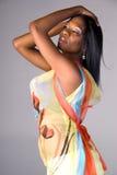 Femme de mode d'été. photographie stock libre de droits