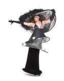 Femme de mode de couture de Haute Photo libre de droits