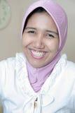 femme de musulmans de robe Photographie stock