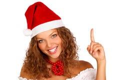 Femme de Noël Photos libres de droits