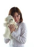 femme de nounours d'ours Images stock