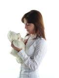 femme de nounours d'ours Photo libre de droits