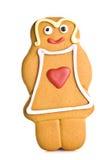 Femme de pain d'épice Photos libres de droits