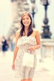 Femme de Paris image stock