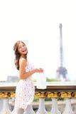 Femme de Paris image libre de droits