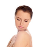 femme de peau de santé de visage Photo stock
