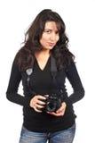 femme de photographe Photos stock