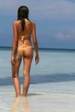 femme de plage Image libre de droits