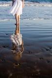 femme de plage Images libres de droits