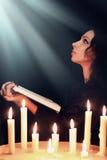 Femme de prière Photo libre de droits