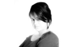 Femme de quarante ans Photographie stock