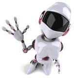 Femme de robot illustration stock