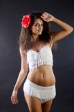 Femme de Salsa photo stock