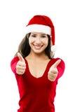 Femme de Santa Photos stock