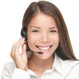Femme de service à la clientèle Image stock