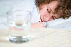 Femme de sommeil Photos libres de droits