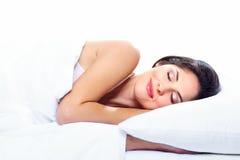 Femme de sommeil. Photos stock