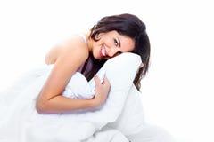 Femme de sommeil Photos stock