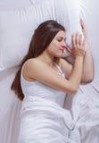 Femme de sommeil Photo stock