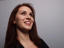 Femme de sourire Image stock