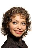 Femme de sourire Images libres de droits
