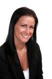 Femme de sourire d'affaires Photographie stock