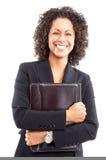 femme de sourire d'affaires Images stock