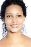 Femelle de sourire Photographie stock libre de droits