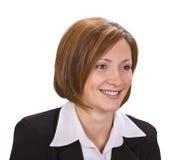 femme de sourire de verticale Photos libres de droits