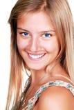 Femme de sourire de yoiung Image stock