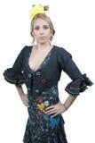 Femme de Spain de danseur de flamenco Photos stock