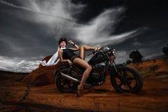 Femme de Steampunk Photographie stock libre de droits
